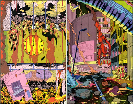 watchmen and chapter Watchmen is a twelve-issue comic book limited series created by alan moore,  this may be contrary to the intent of the original novel in chapter 1, the fourth.