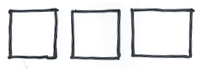 Sketch of some squares