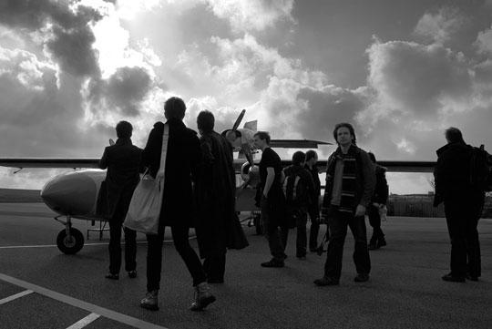 Alderney runway