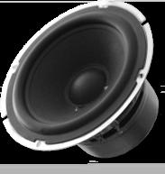 A bare woofer, loudspeaker