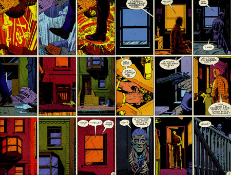 a character analysis of rorschach in the book watchmen by alan moore and dave gibbon
