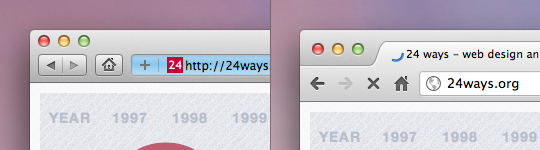 Safari and Chrome - progress indication