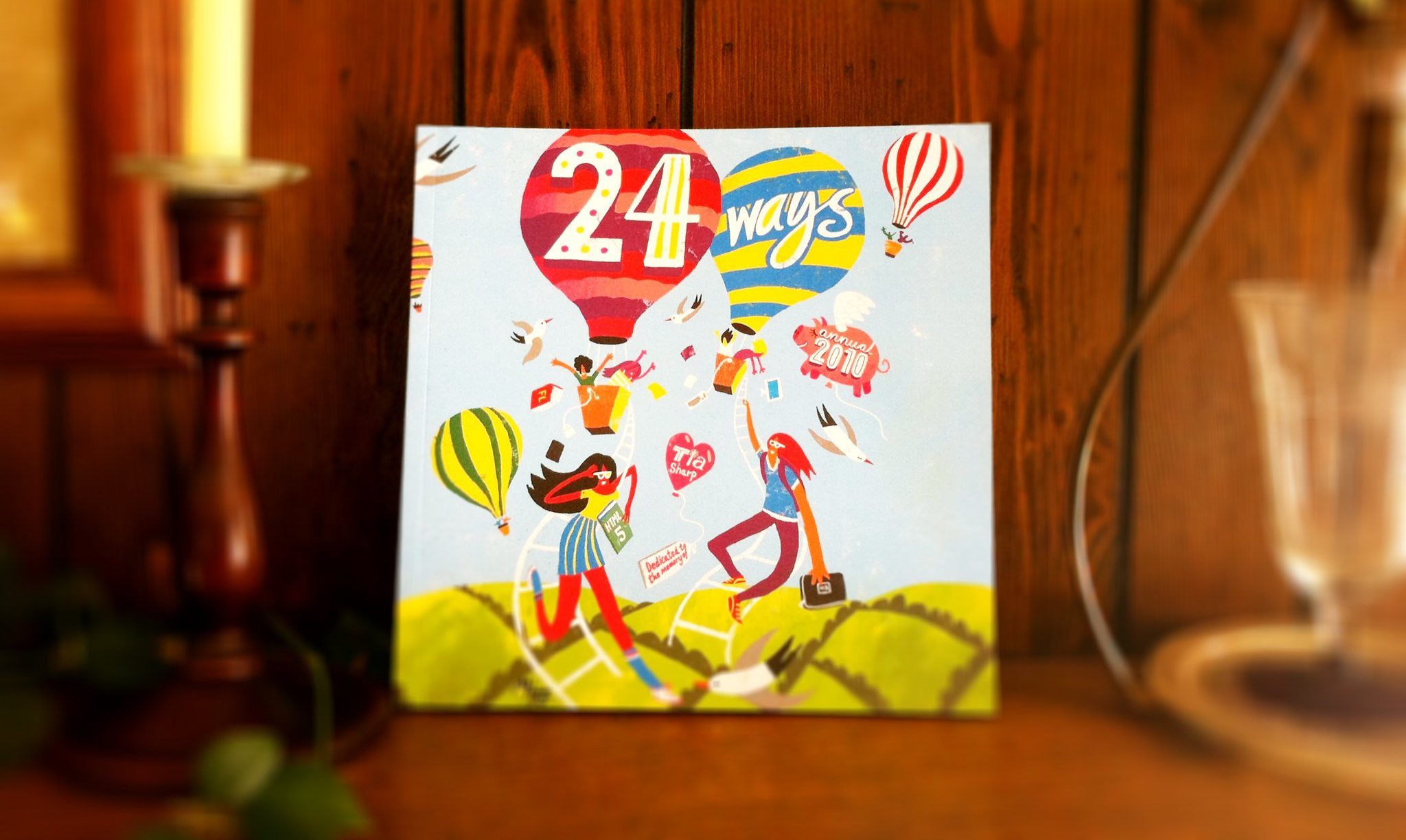 Photo of the cover of the 24 ways book
